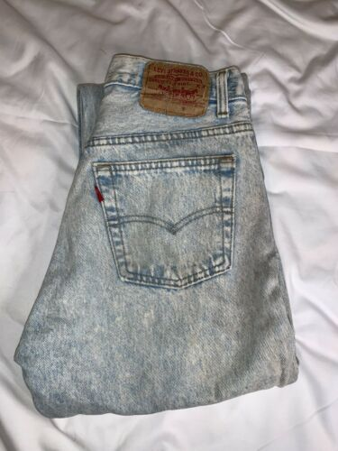 Vintage Levis 501xx made in usa 1960s