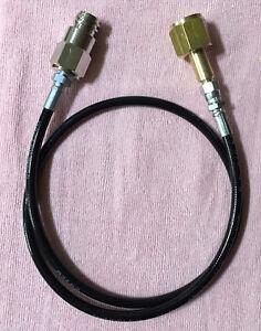Soda-Club-Sodastream-zu-externen-CO2-Tank-direkt-Adapter-Kit-Laenge-1m