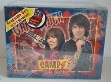 CAMP ROCK Keepsake BOX Demi Lovato Jonas Brothers 3 Drawers 2008 Disney Collect