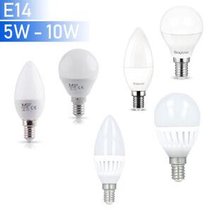 E14-LED-Leuchmittel-Gluehbirne-Kerze-Kugel-Lampe-Form-Leuchte-4W-5W-6W-7W-10W