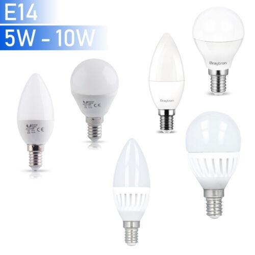 E14 LED Leuchmittel Bulbs Candle Ball Lamp Shape Light 4W 5W 6W 7W 10W