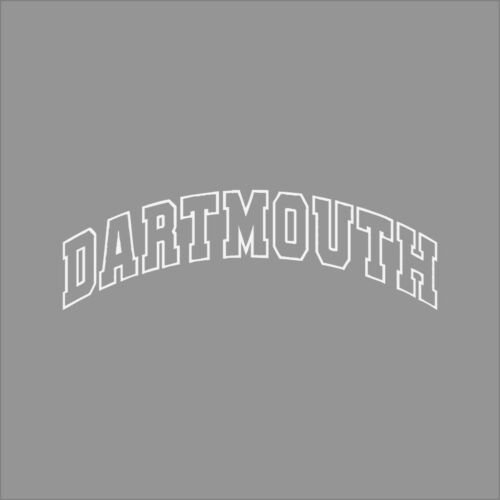 Dartmouth Big Green #4 College Logo 1C Vinyl Decal Sticker Car Window Wall