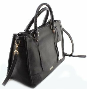c78c362e487a9 Rebecca Minkoff Hs16ipbs31 Regan Satchel Tote Black Leather for sale ...