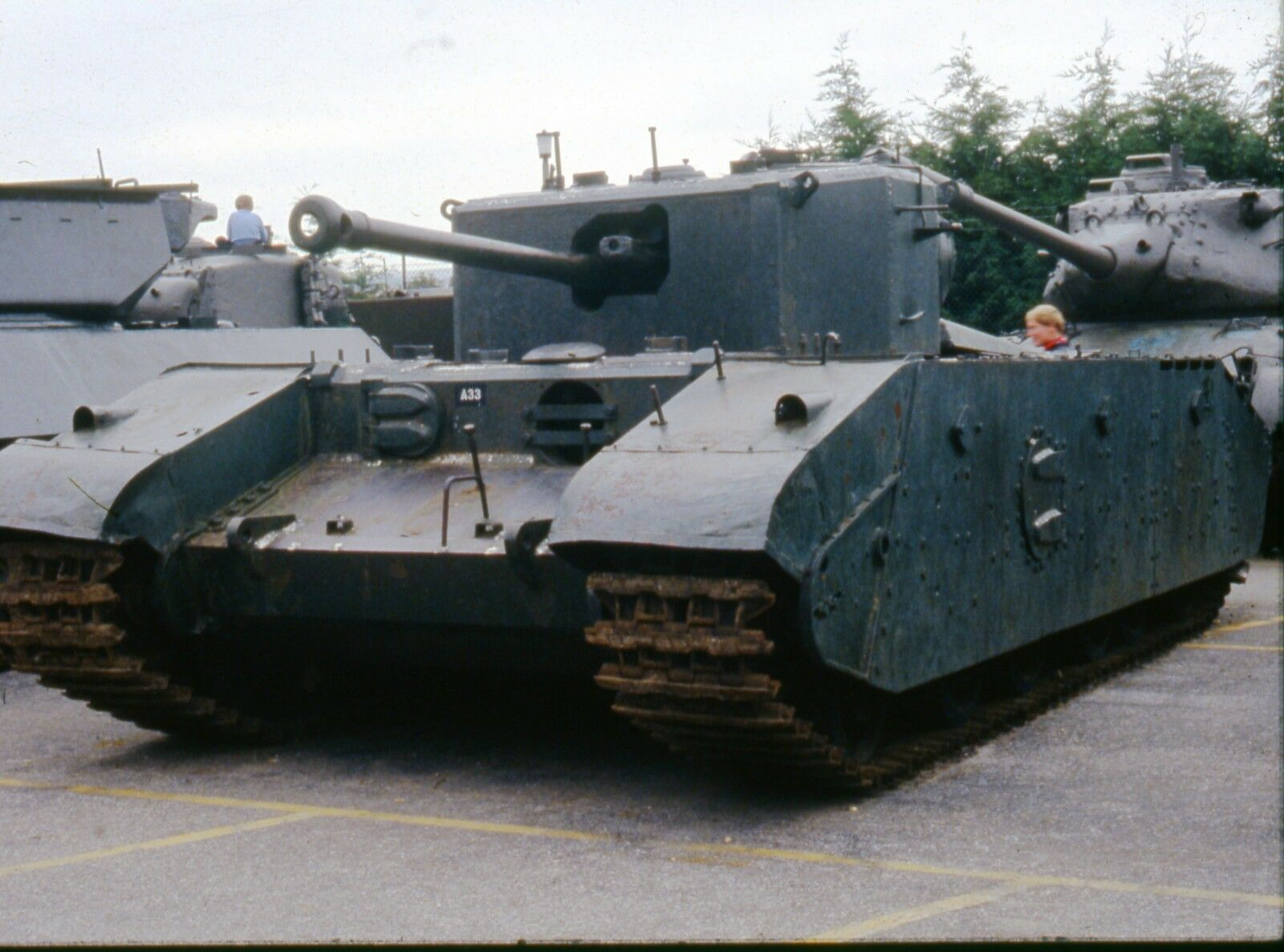 BRITISH ARMY CHURCHILL TANK    Photo Print