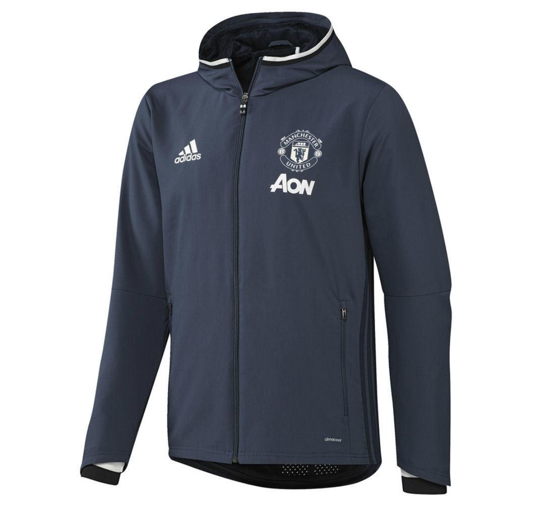 Adidas Manchester United [ ERL 128 - 164] MUFC MUFC MUFC Giacca per allenamento NUOVO & 2dd572