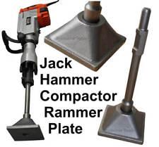 Jack Hammer Compactor Rammer Plate. Tamper. Packer. Concrete Landscaper Builder