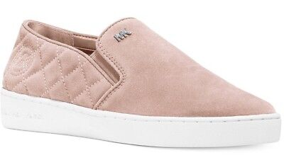 New Michael Kors keaton quilted slip on