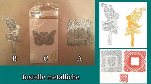 fata quadri NUOVE Fustelle metalliche per scrapbooking e decorazioni carta