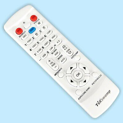 TeKswamp Video Projector Remote Control for Toshiba TDP-TW355
