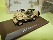 JEEP WILLYS SAS MILITAIRE ATLAS N°18 1:43