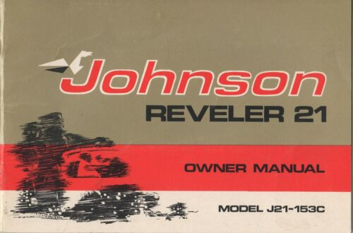 1972 JOHNSON SNOWMOBILE REVELER 21 PN 262377 SNOWMOBILE OWNERS MANUAL222