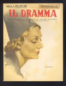 Il-Dramma-rivista-Teatro-e-Cinema-ottobre-novembre-1944-R