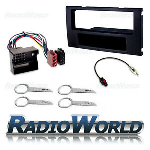 Ford-Radio-Stereo-Fitting-Kit-Fascia-Panel-Surround-amp-ISO-and-Aerial-Adapter