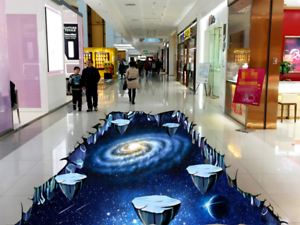 3D Universe Stones 53 Floor WallPaper Murals Wall Print 5D AJ WALLPAPER UK Lemon