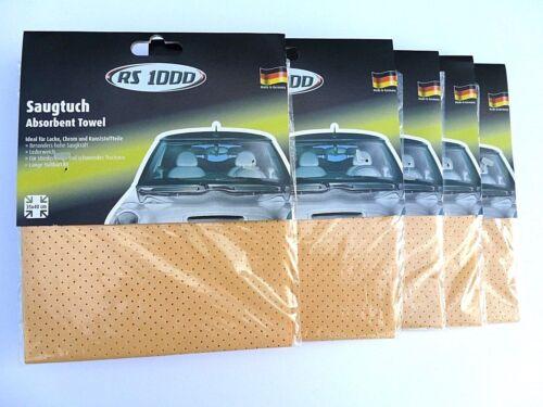 3,00 €//unidad 5 x rs1000 saugtuch auto pañuelo auto cuidado pañuelo para pintura de vidrio