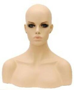 Brand-New-Mannequin-Head-with-Shoulder-Bust-Wig-Hat-Jewelry-Display-MZ-H1