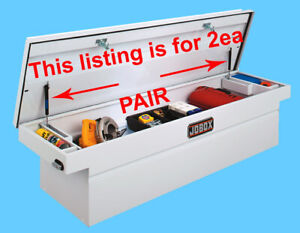 2ea-10-REPLACE-JO-BOX-Tool-Storage-Job-Chest-Nitro-Prop-Gas-Spring-Lift-Rod