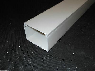 20m KABELKANAL SCOS L x B x T 2000x30x20 mm PVC Kabelleiste Weiß Schraubbar
