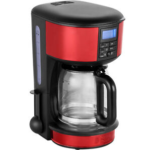 Legacy Filter Coffee Maker : Russell Hobbs 20682 Legacy Filter Coffee Machine with Timer Red New from AO eBay