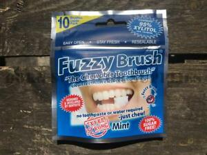 FUZZY-BRUSH-CHEWABLE-TOOTHBRUSH-Extra-Strong-Mint-Disposable-Travel-Camping-Wash