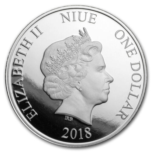 2018 Niue 1 oz Silver Toucan Proof SKU#179295