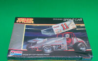 World Of Outlaws Steve Kinser Coors 11 Sprint Car 1:24 Scale Monogram Kit