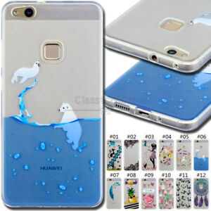 online retailer 0e46a b43a8 Details about For Huawei P10 Lite Rubber TPU Skin Silicone Soft Case Cover  Protective Gel Back