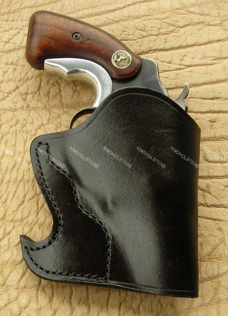 Colt Agent S&w J-frame Taurus 605 Ruger Sp101 Front Pocket Revolver Holster