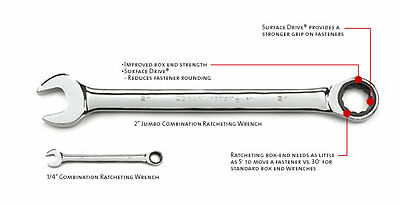GEARWRENCH 9011 11//32-Inch Combination Ratcheting Wrench