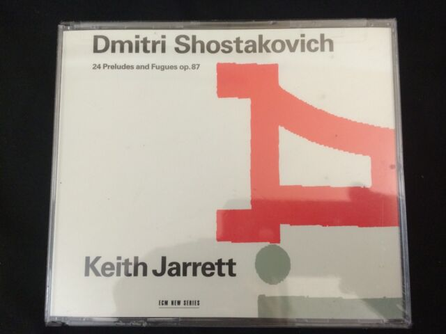 Shostakovich: 24 Preludes and Fugues Op 87 / Keith Jarrett by Keith Jarrett...