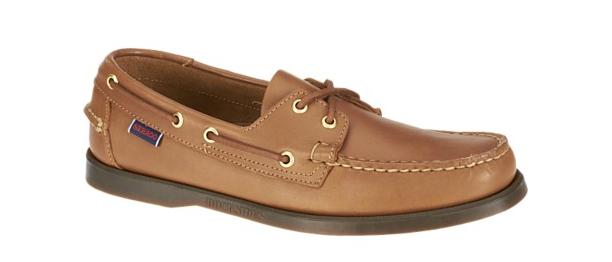Sebago Docksides Cognac Boat shoes Men's Sizes 7-15 Medium NEW