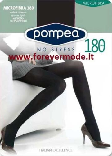art Microfibra 180 Collant donna Pompea coprente in morbida microfibra 180 den