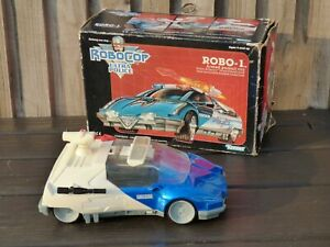 Robocop-Police-Kenner-Robo-1-coche-armado-Pursuit-1988-Orion-Usa-En-Caja-Juguete-Vintage