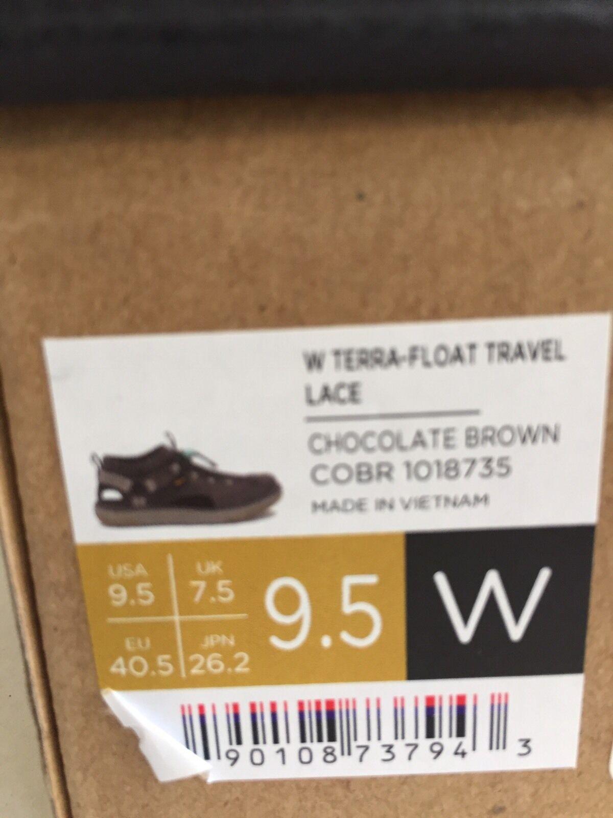 TEVA WOMEN WOMEN TEVA TERRA-FLOAT TRAVEL LACE CHOCOLATE BROWN US 9.5 / EU 40.5 /UK 7.5 63b01d