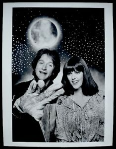 Robin-Williams-Pam-Dawber-Mork-amp-Mindy-Press-Photo-1978-ABC-Snipe-Date-Stamp-VTG
