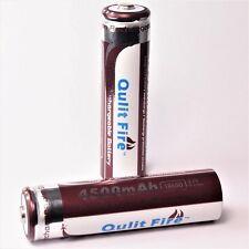 3 x  Qulit Fire 4500 mAh / 9,6 Wh Lithium Ionen Akku 3,7 V / 18650 Li  - ion