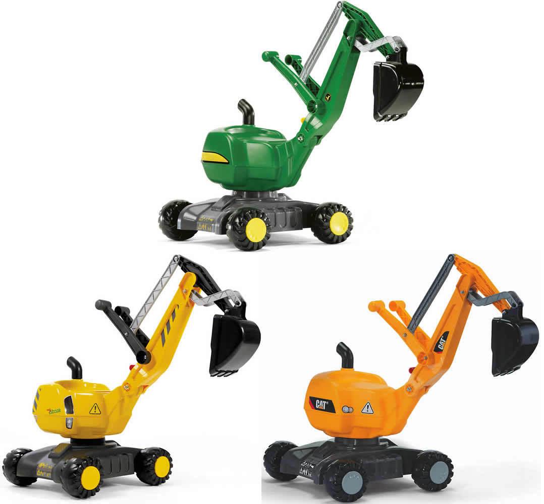 Rolly toys rollyDigger Schaufelbagger Bagger Sitzbagger