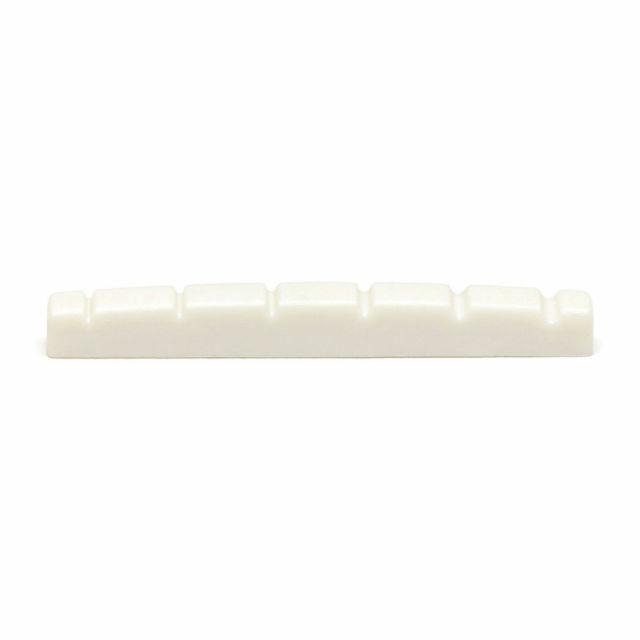 Yibuy White Blank Guitar Cattle Bone 80x2.7x9mm Saddle /& 52x6x9mm Nut Set for DIY Set of 10