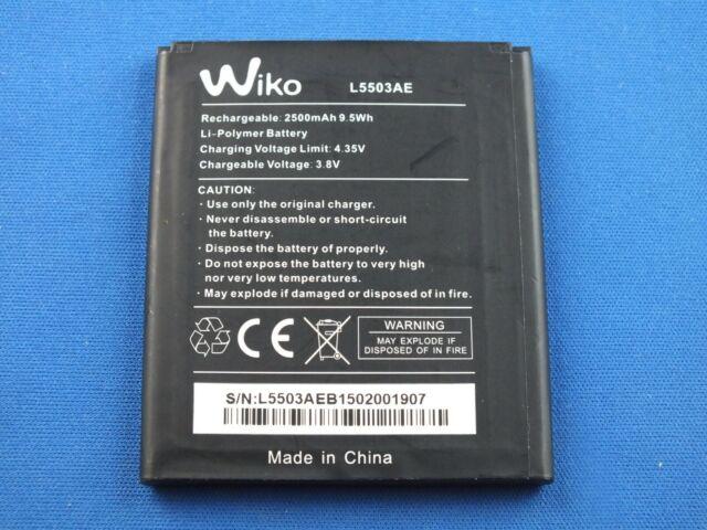 Original Akku 2500 Mah L5503ae Wiko Wax Rainbow 4g 3 8 V Li Polymer 2500 Mah Ebay