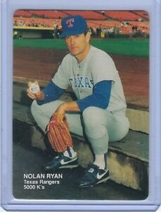 Details About 1990 Mothers Cookies Nolan Ryan 4 Texas Rangers Hof 5000 Ks