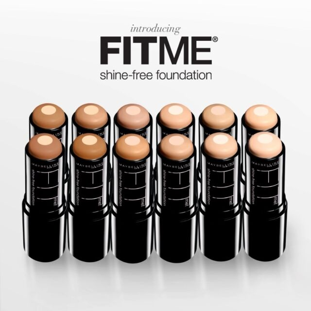Maybelline FIT ME Shine-Free Foundation Stick Oil Free NEW  YOU CHOOSE FRESH!!