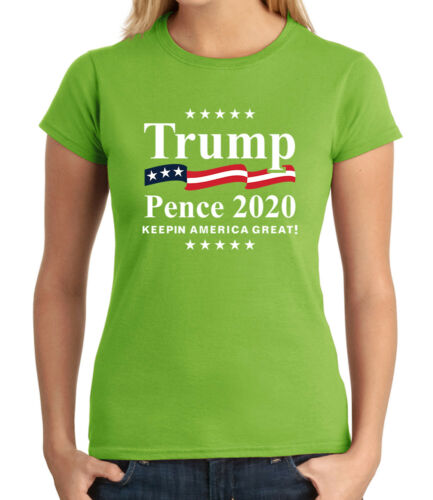 2214C Trump Pence 2020 JUNIOR/'S T-shirt Republican Election Support GIRL/'S Tee