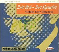 Kaempfert, Bert Golden Easy Listening 24 Karat Zounds Gold CD Audiophile Edition