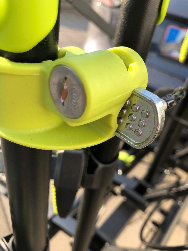 Cykelholder, Cykelholder 4 cykler udlejes