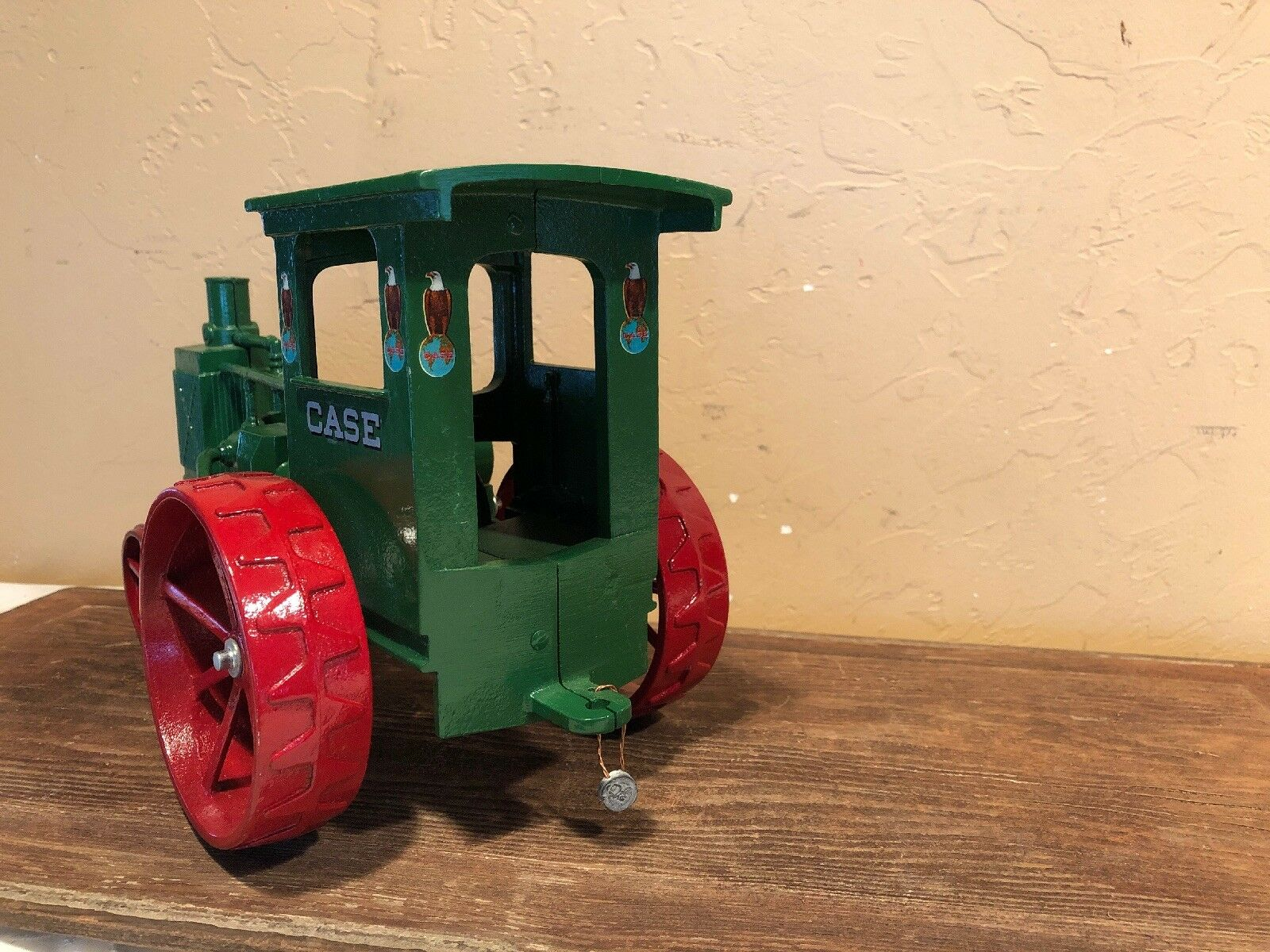Scale Models Diecast 1 16 J. I. I. I. Case Steam Engine Toy Tractor Model 20-40 c17942