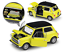 Welly-1-24-Mini-Cooper-1300-Yellow-Diecast-Model-Sports-Racing-Car-NEW-IN-BOX thumbnail 2