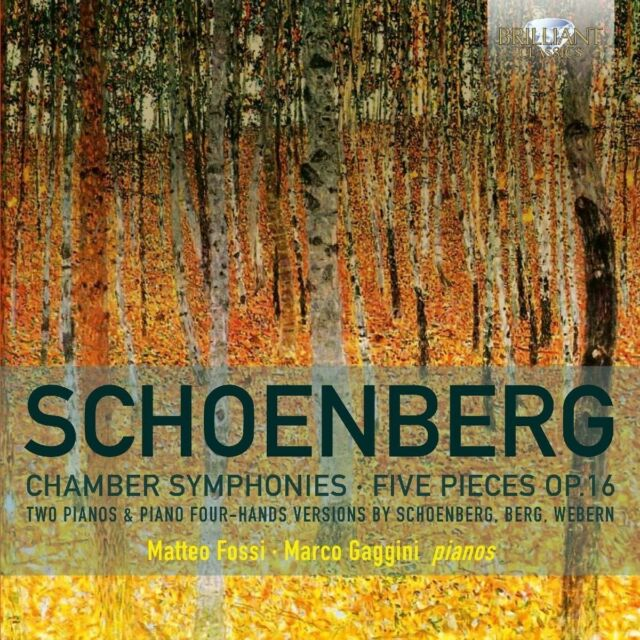 CHAMBER SYMPHONIES/FIVE PIECES OP.16 - FOSSI,MATTEO/GAGGINI,MARCO/+  CD NEW!