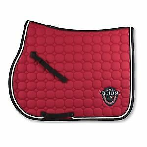 Equiline-Brian-Saddle-Pad-Red-PONY