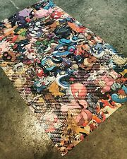 "Carbon Fiber Pokemon Wrap Sheet 10""x6"" JDM Custom Vinyl Decal Sticker"