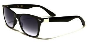 Grande oversize Cat Eye Designer Stile OCCHIALI DA SOLE NERI UV400